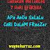 CaBaRaN iNsTaBLoG 7 HaRi - aPa AnDa SeLaLu CaRi DaLaM FReeZer
