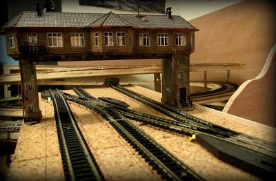 control de trafico ferroviario maqueta