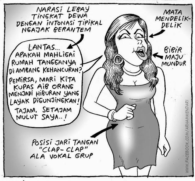 Gosip Murah Meriah Setajam Singlet