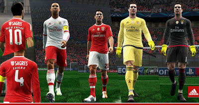 Benfica 2015-16 Kits Update With New Font By Abdallah El Ghamry
