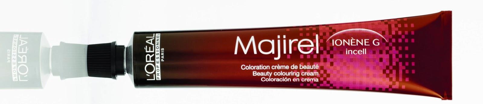 tubo de tinte majirel