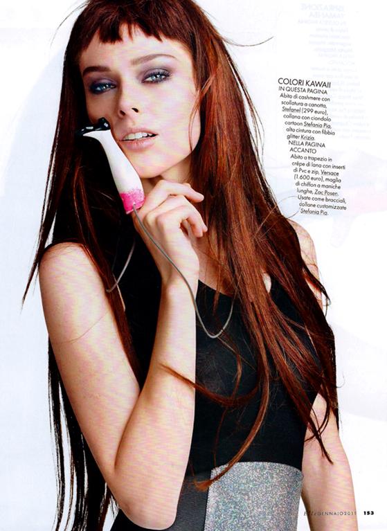 Coco rocha elle italia jan 2011 hq models inspiration for Elle italia