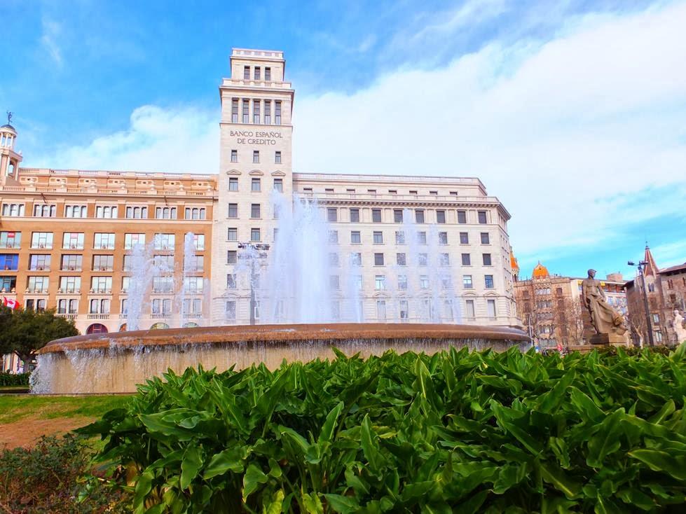 Banco Español de Crédito, Plaça de Catalunya
