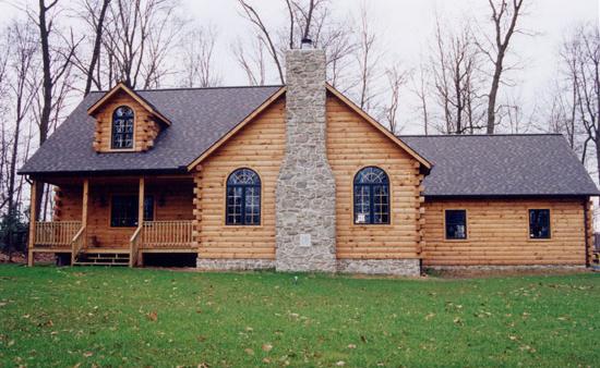 Gingrich log homes for Log home addition