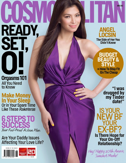 Actress, Model @ Angel Locsin - Cosmopolitan Philippines, June 2015
