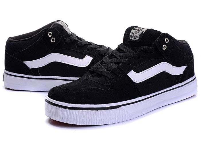 Vans shoes black