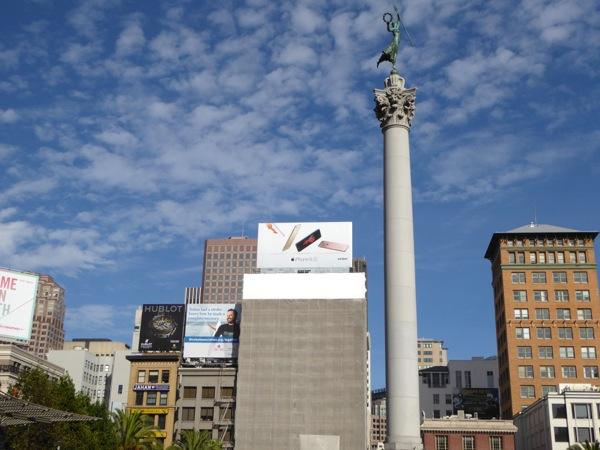 iPhone 6s billboard Union Square