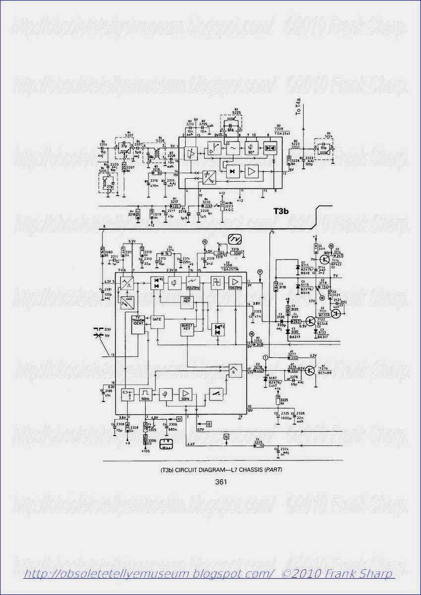 obsolete technology tellye    philips 20tl7021   06z elba chassis l7 internal view
