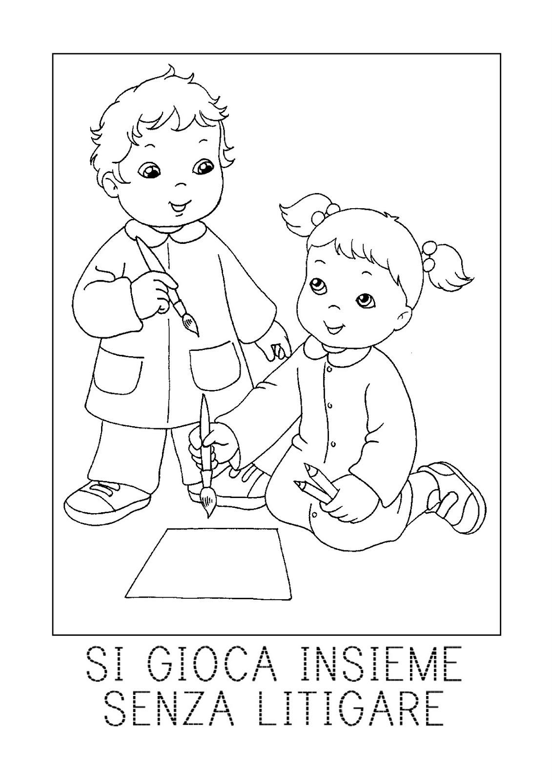 Schede ed attivit didattiche del maestro fabio per la - Immagine del mouse a colori ...