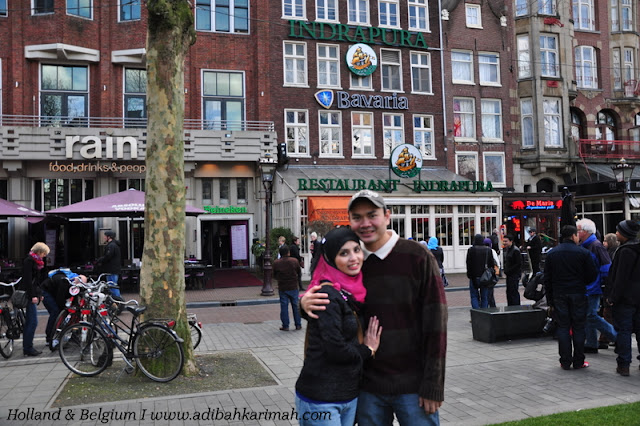 holiday to holland and belgium with premium beautiful in amsterdam at indrapura indonesian restaurant delicious food bhg 2