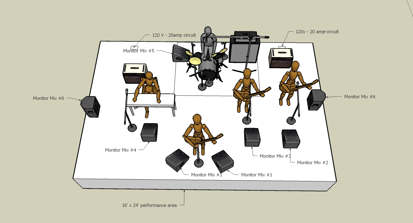 Band Room Layout Design Online