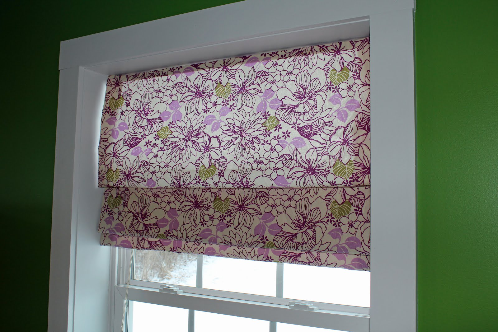 Make your own roman shades from mini blinds Make your own shade house