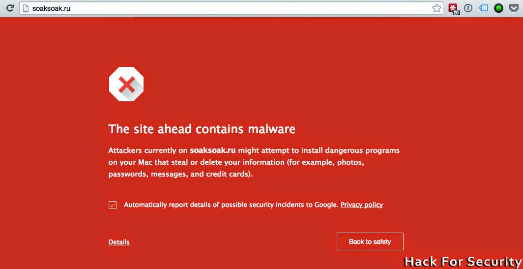 SoakSoak Malware do to your WordPress Website/blog