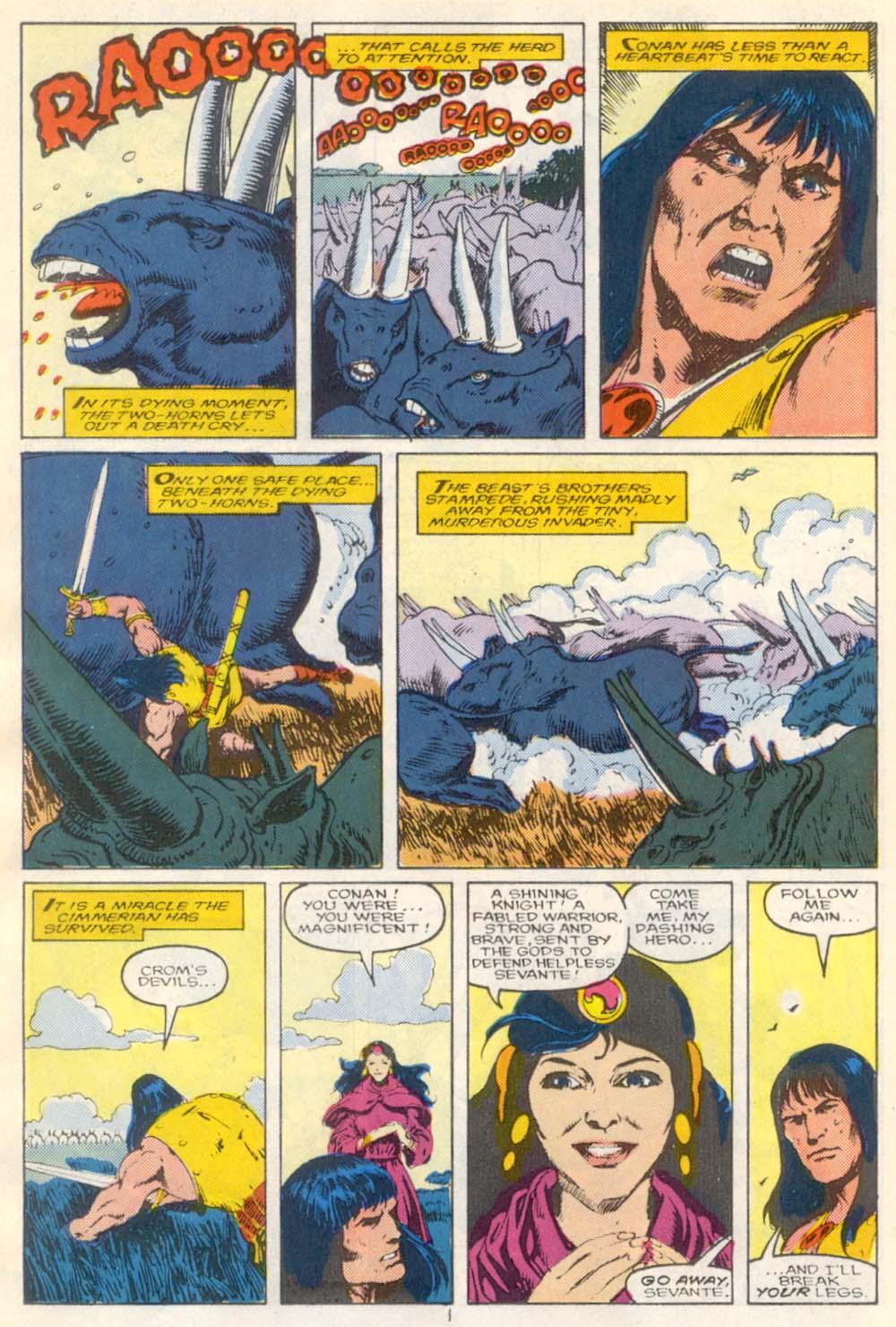 Conan the Barbarian (1970) Issue #210 #222 - English 11