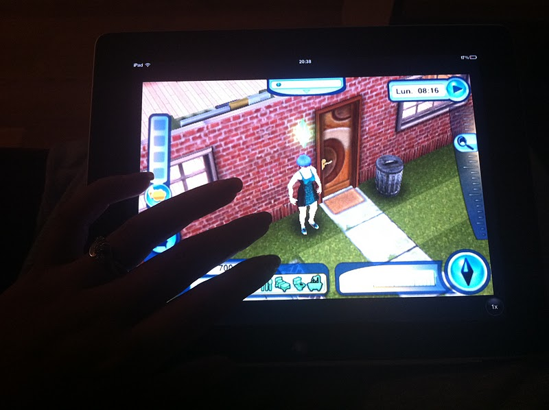 how to play sims 3 on ipad