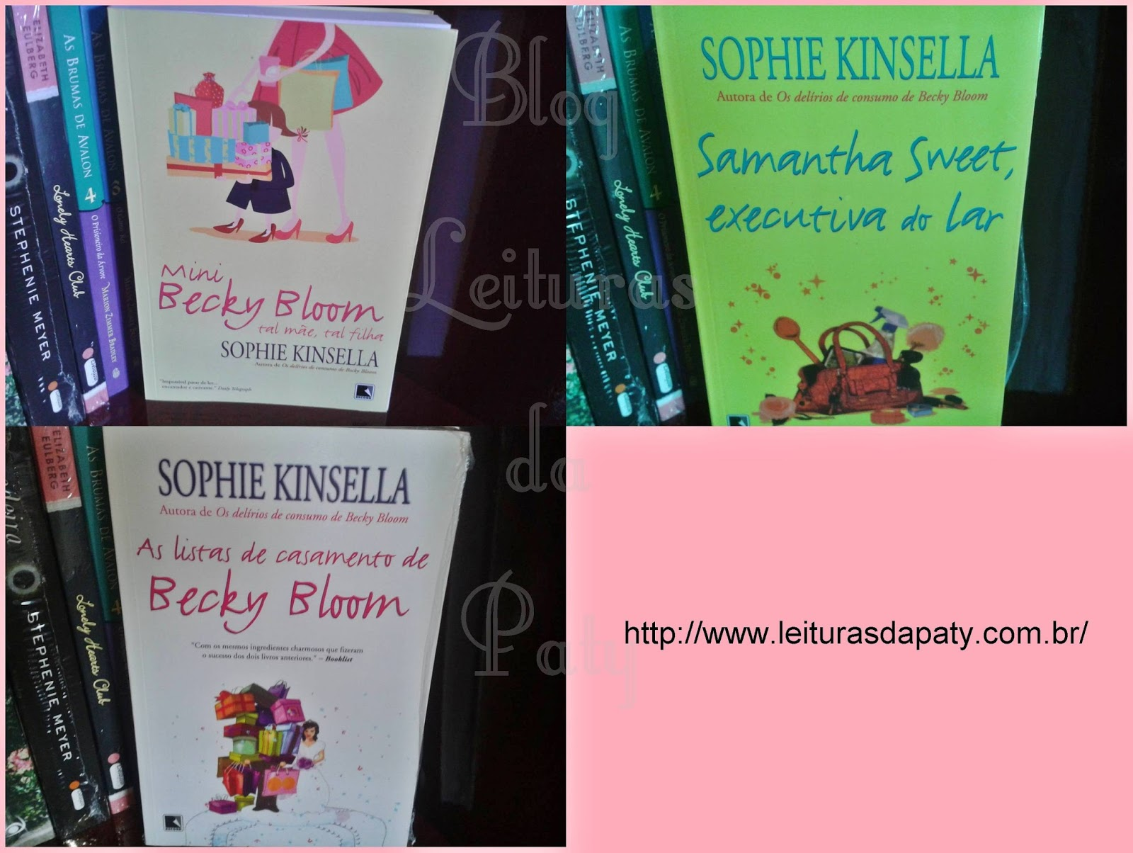 Livro Mini Becky Bloom - Sophie Kinsella-Galera Record - Blog Leituras da Paty