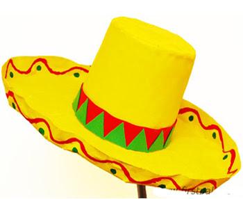 Papier Mache Hat