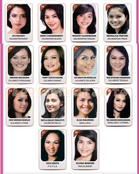 Foto Finalis Puteri Indonesia 2013 (3)