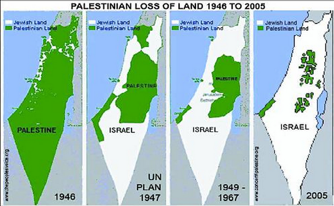 a history of the four major arab israeli conflicts over palestine since 1947