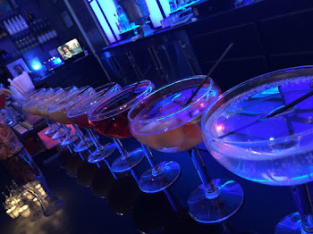 Martini Line Up at the Club 9
