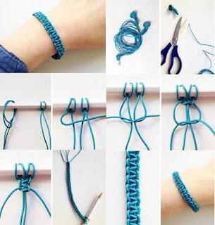 Pulseras con Cables Reciclados, Ideas de Moda Reciclada