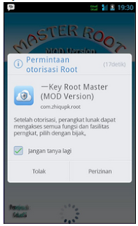Rooting Android Smartfren Andromax G No PC