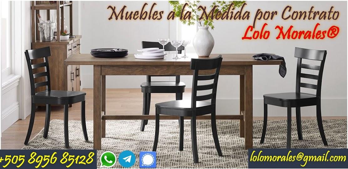 Muebles Lolo Morales® en Managua, celular/WhatsApp +505 89565128 Muebles de mi Patria