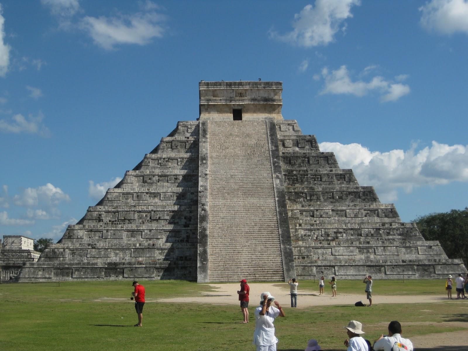 Amerique centrale et cuba chichen itza for Les monuments les plus connus