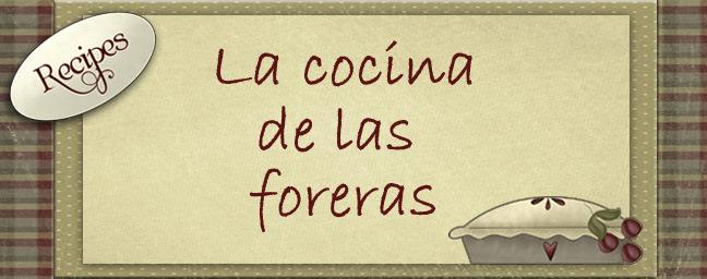 La cocina de las foreras