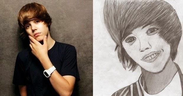 Justin Bieber - #fanart - desenhos de fãs