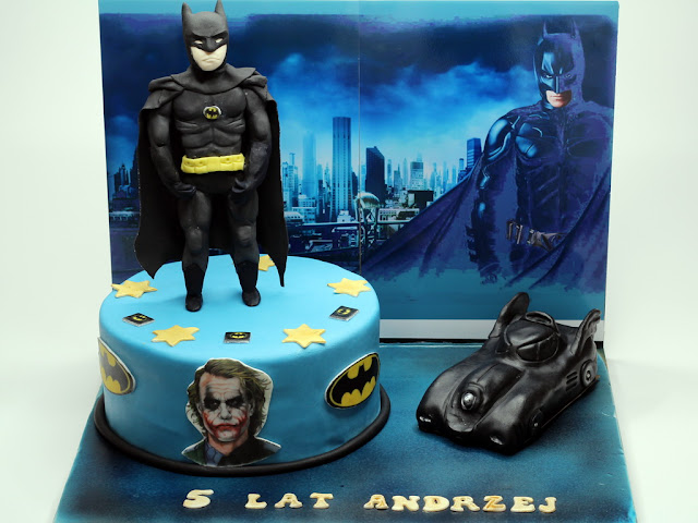 Batman Birthday Cake, London Mayfair