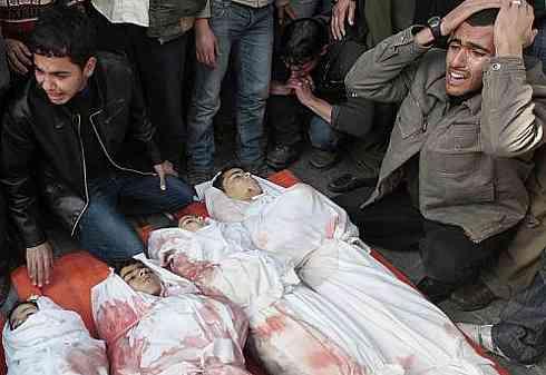 Muertes de niños por las guerras