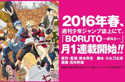 Manga Untuk Anak Naruto Akan Terbit Tahun Depan