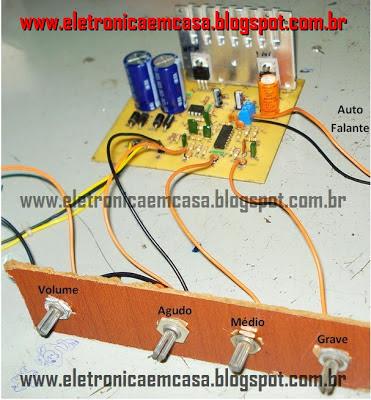 Amplificador de Áudio Transistorizado