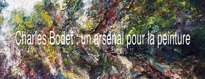 Charles Bodet : un arsenal pour la peinture