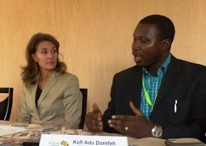 Melinda Gates talks Agric & Women