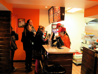 A line forms to order at the new in New York Japadog