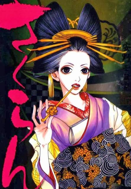 Sakuran,anime girl,geisha