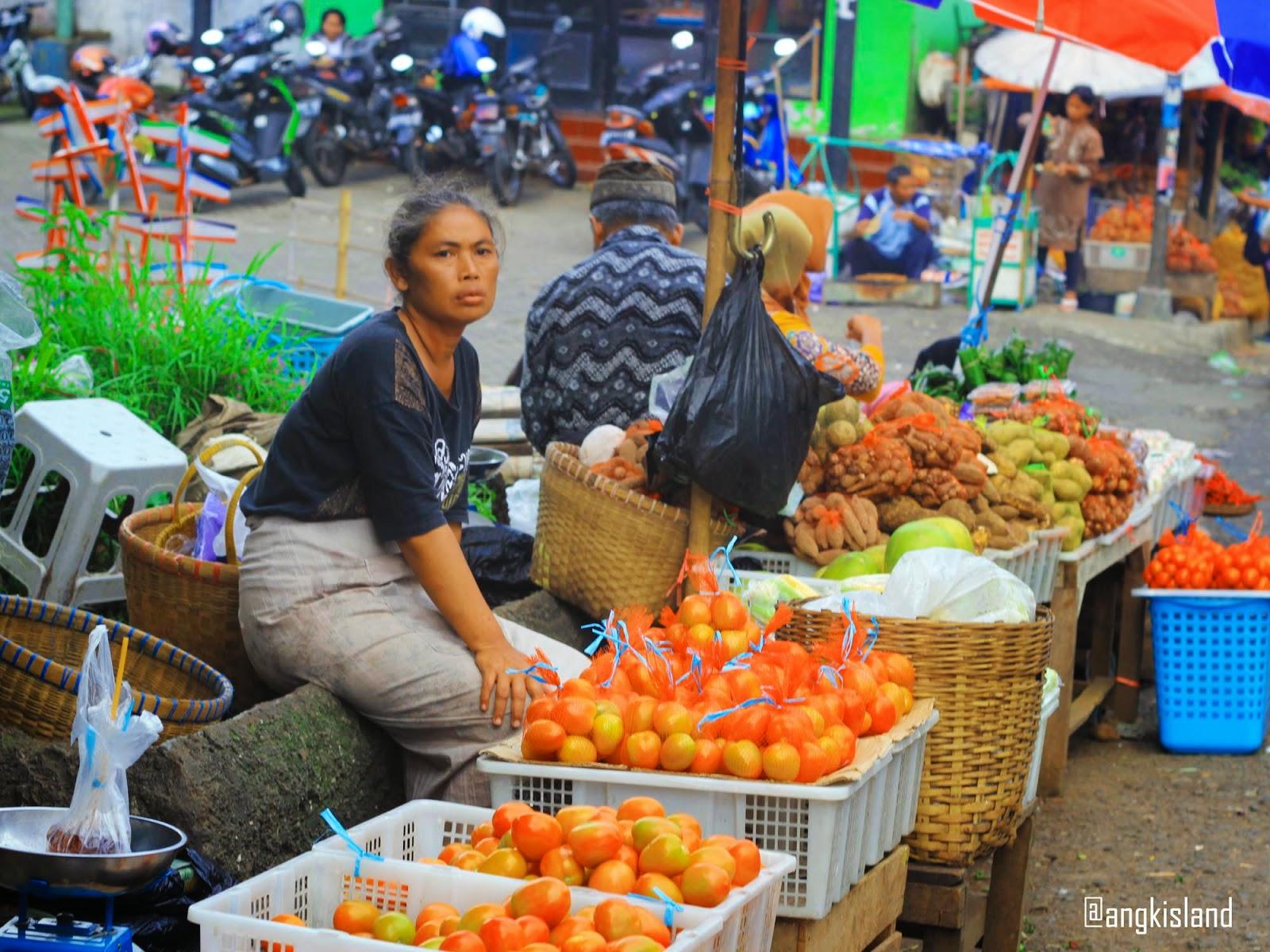 penjual tomat