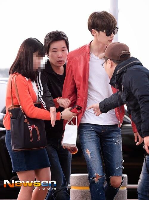 Lee Jong Suk Bir Fanın Hediyesini Reddettiği İçin Eleştiri Topladı /// 27 Mart 2014