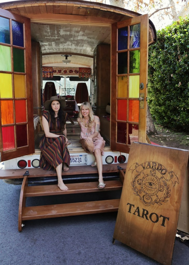 Moon To Moon The Bohemian Tarot Wagon Of Erin Smith