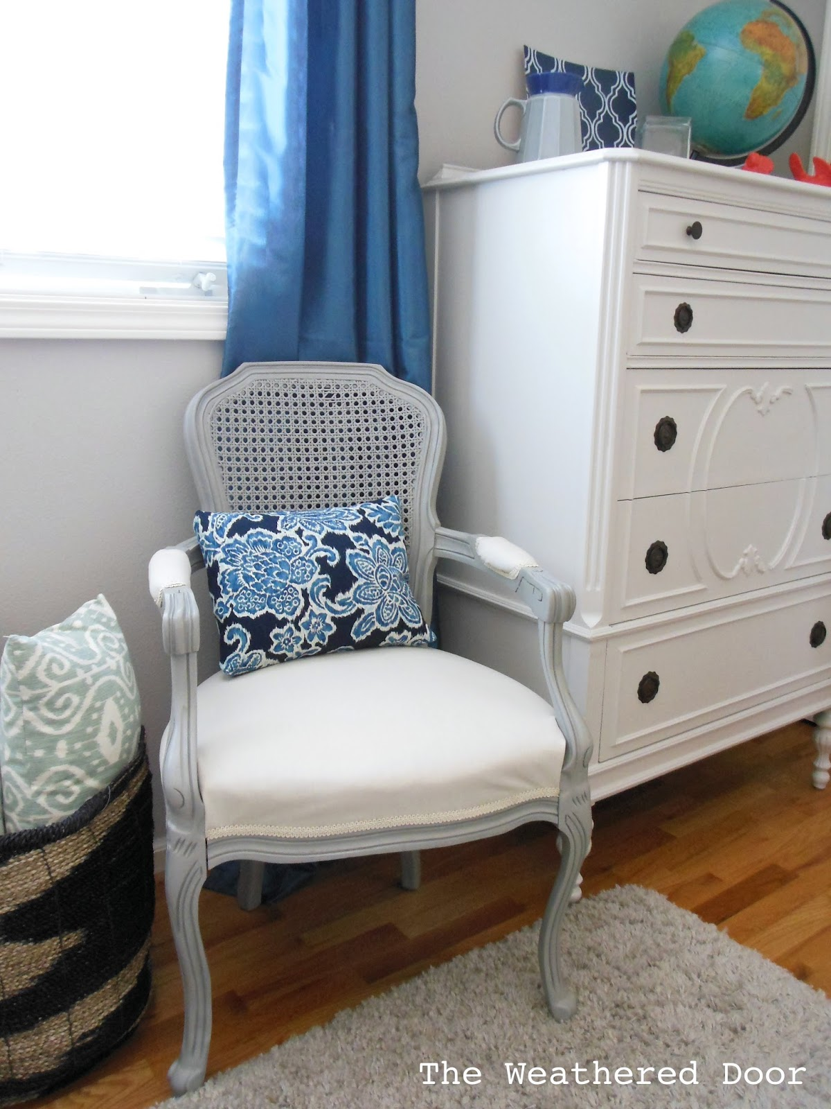 Gorgeous Gray Chair from The Weathered Door