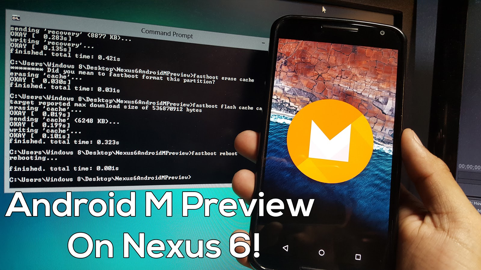 How To Install Android M Preview On Nexus 6! ~ Androidrootz  Source  For Android Rooting, Roms, Tricks And More!