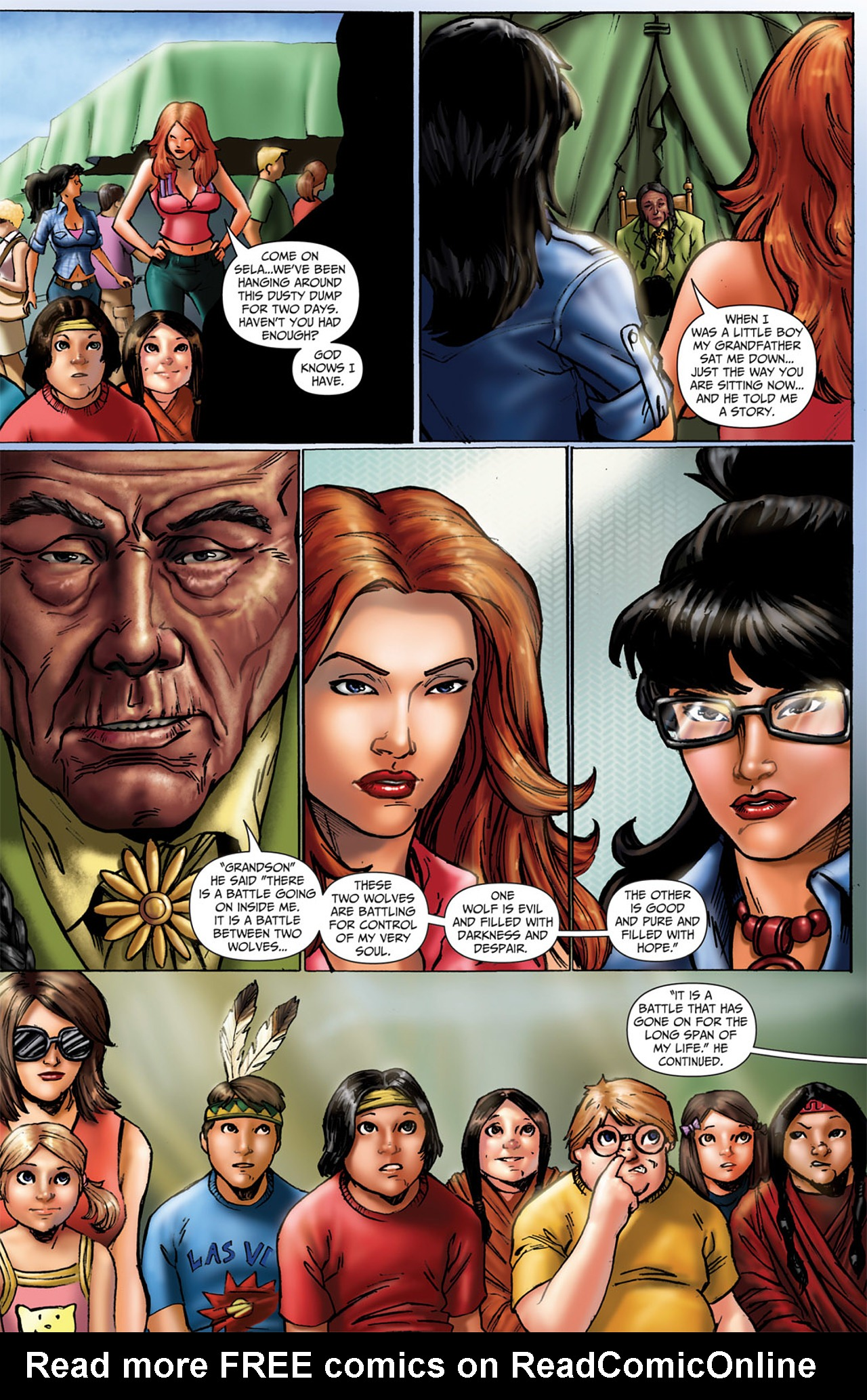Grimm Fairy Tales (2005) Issue #43 #46 - English 4