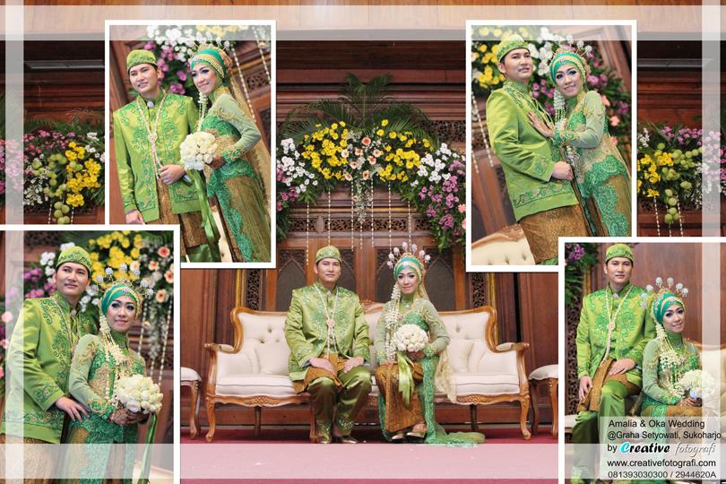gaun pengantin adat jawa islam