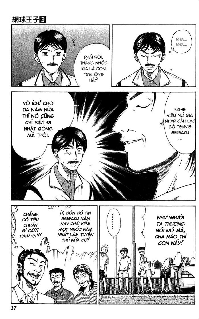 Prince of Tennis chap 17 Trang 15
