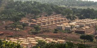 La mine de Simandou, en Guinée. En avril 2010, la société BSGR réalise une forte plus-value en revendant 51 % de sa filiale guinéenne au brésilien Vale, pour un montant de 2,5 milliards de dollars. | ©Moises Saman / Magnum Photos