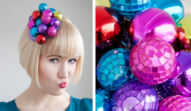 Jeff Koons, Pearls and Swine, Fascinator, Disco Ball