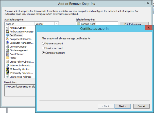 Leo\'s Blog: SharePoint 2013 Certificate Error Causes Performance Issues