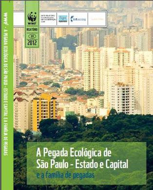 PEGADA ECOLÓGICA DA CIDADE E DO ESTADO DE SÃO PAULO